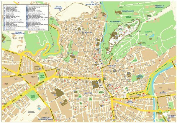 mapa-callejero-granada