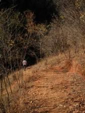 Caminho para o Caldeirão (poço que dá nome ao lugar)
