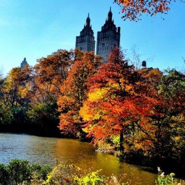 Viajando para Nova York no Outono