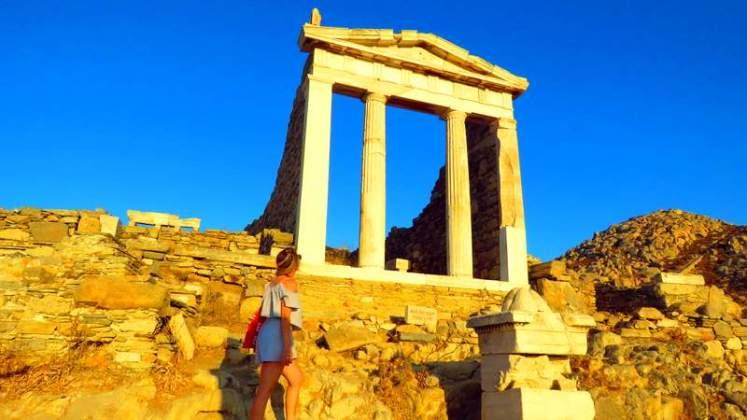 Templo de Isis - Ilha de Delos