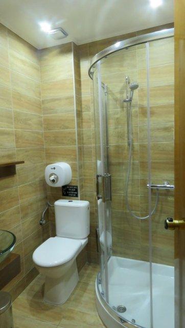 Banheiro - Hotel em Meteora - Grécia