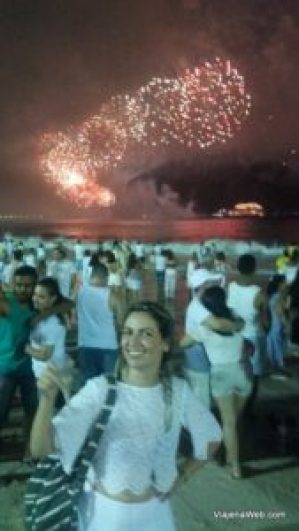 Réveillon na praia de Copacabana - reveillon rio de janeiro