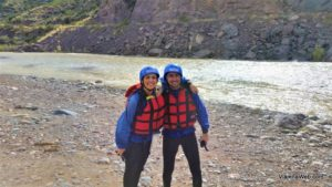 Rafting em Potrerillos