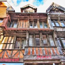 Arquitetura em Etretat