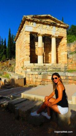 Delfos na Grécia