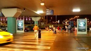 Do aeroporto até o centro de Atenas