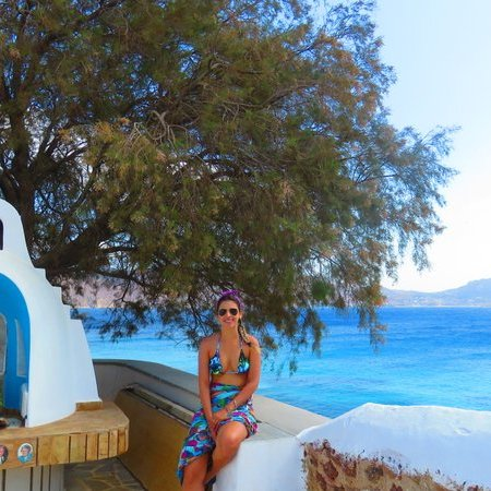 Igrejinha em Agios Sostis - Roteiro em Mykonos