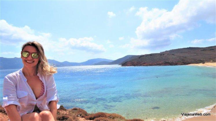 Praia de Agios Sostis - Dicas de onde ficar em Mykonos