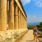 Visita ao templo de Hefesto em Atenas