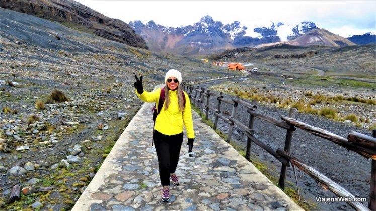 trilha do Glacier Pastoruri