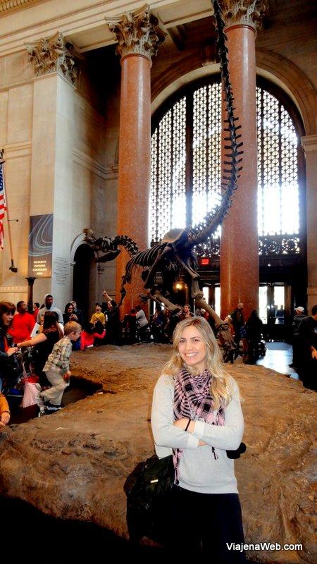Entrada do Museu de história Natural de Nova York