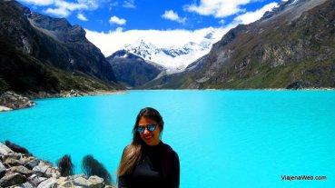 Laguna Paron no Parque Nacional de Huascarán