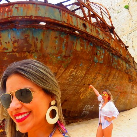 Praia Navagio na Grécia - Onde fica a praia do navio naufragado