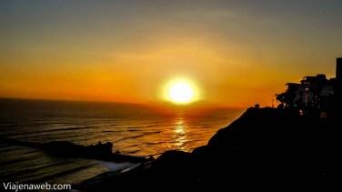 Despedindo dos últimos raios de sol do dia
