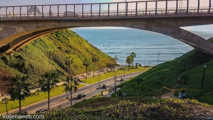 Como chegar em Miraflores - Ponte Malecón de la Reserva