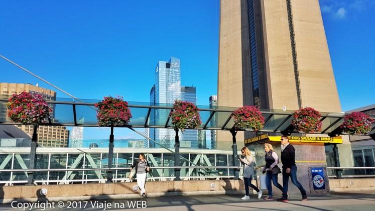 centro de Toronto - CN Tower