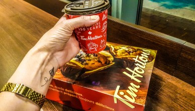 French Vanilla do Tim Hortons
