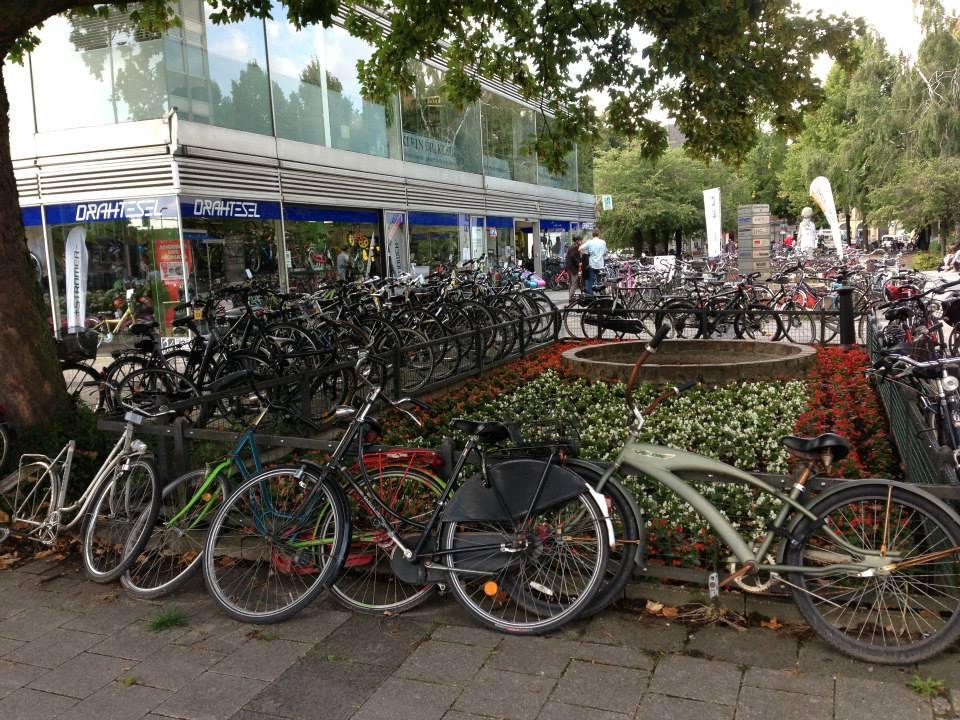 Bicicletas en Münster