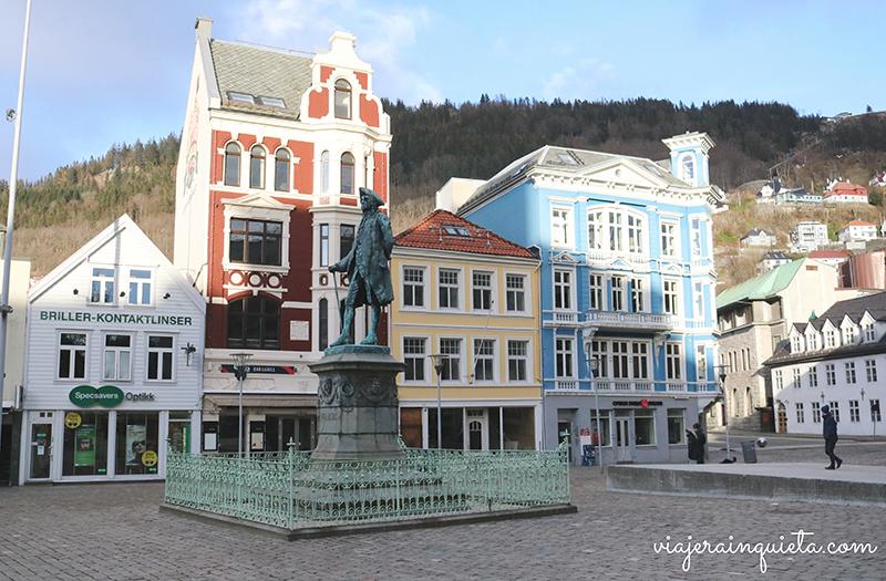 Crucero fiordos noruegos Bergen