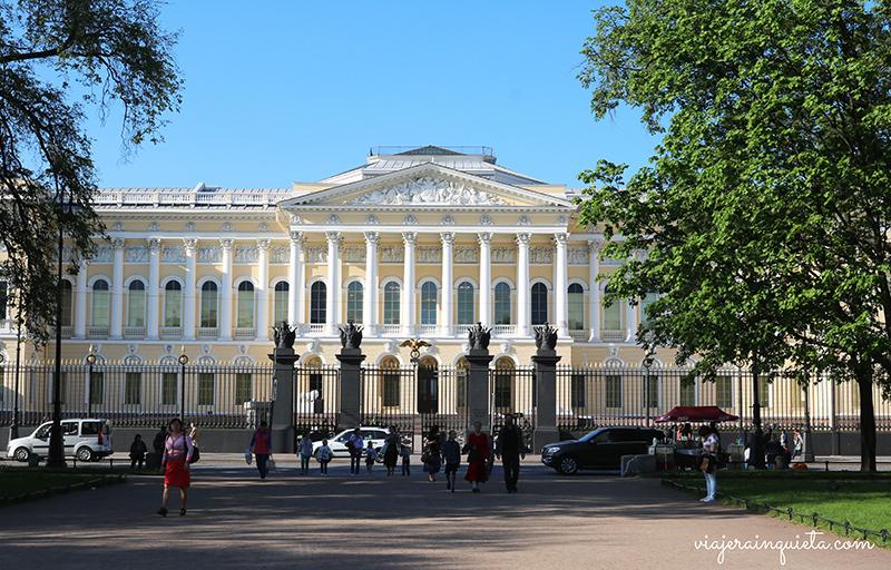 Viajar a Rusia San Petersburgo