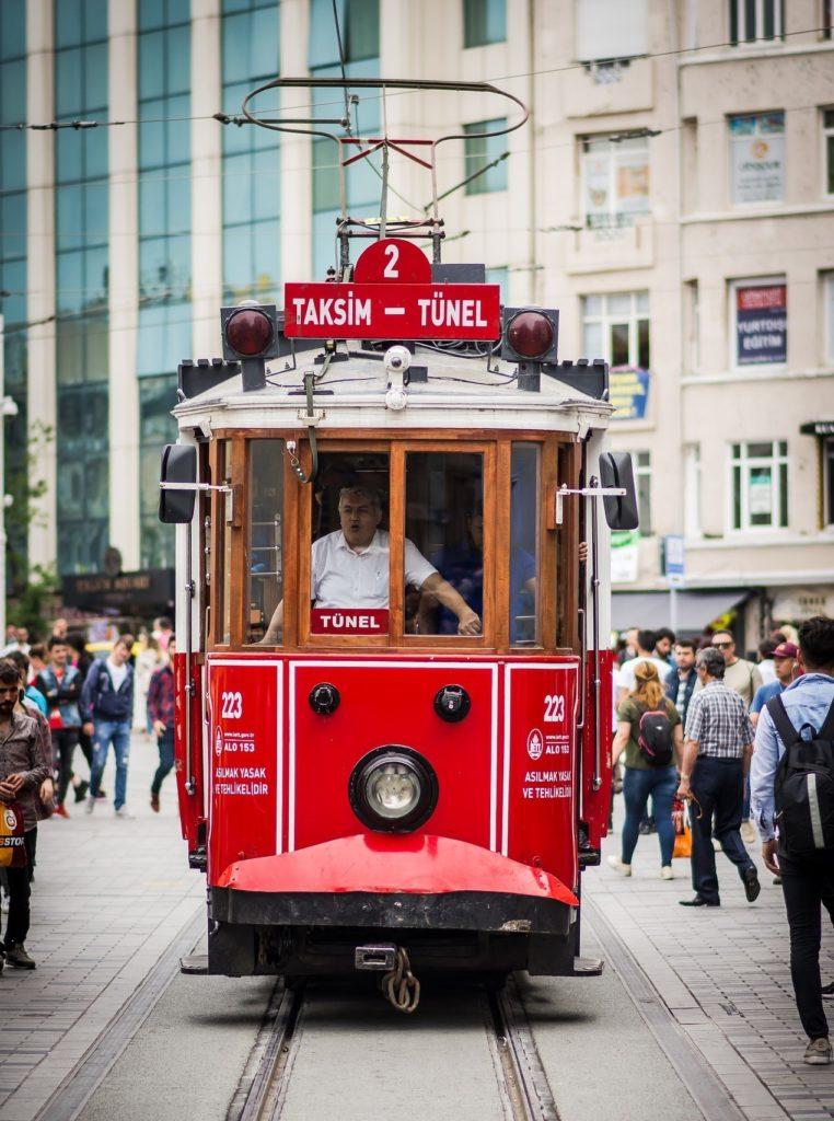 Tram in Turkey