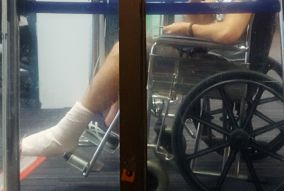 Viajeros Infrecuentes - silla de ruedas