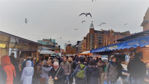 Viajeros Infrecuentes - Hamburgo Fischmarkt