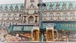 Viajeros infrecuentes - Mercado navideño en Hamburgo