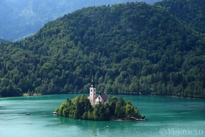 isla en el lago Bled, lugares que ver cerca de Liubiana