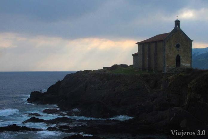 Ermita de Santa Catalina en Mundaka, Reserva de Urdaibai