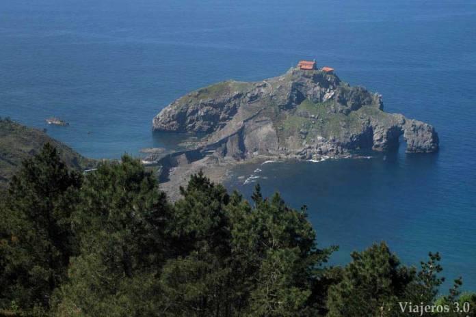 San Juan de Gaztelugatxe en Urdaibai