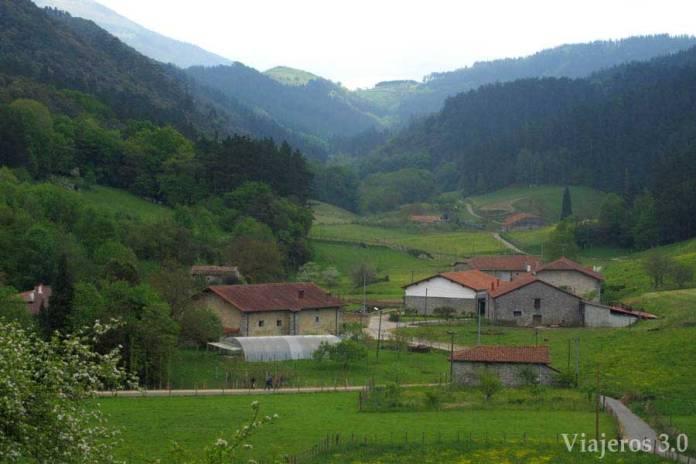 Valle de Oma en la Reserva de Urdaibai
