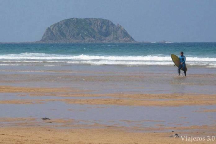 playa de Laga, Reserva de Urdaibai en dos días