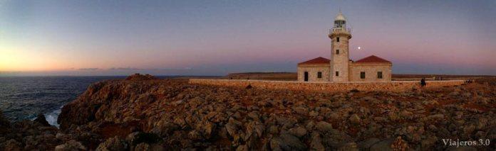 Faros, atardeceres de Menorca