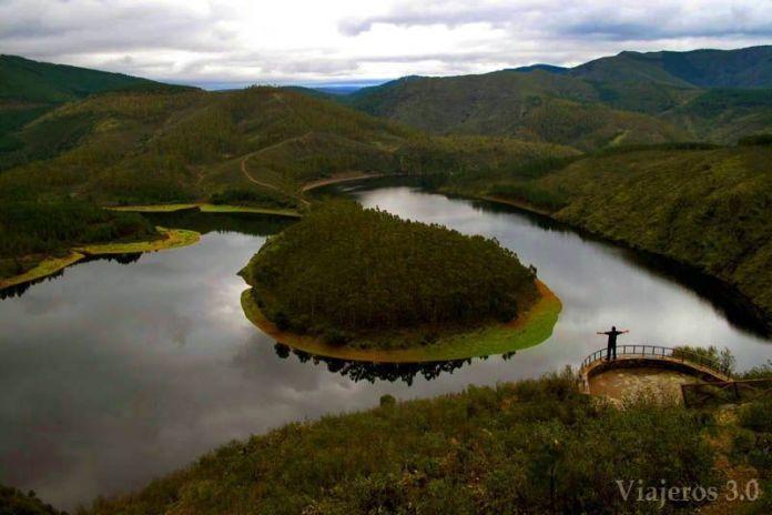 Meandro el Melero, ruta por Las Hurdes