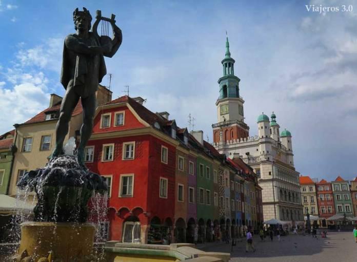 plaza del Mercado de Poznan
