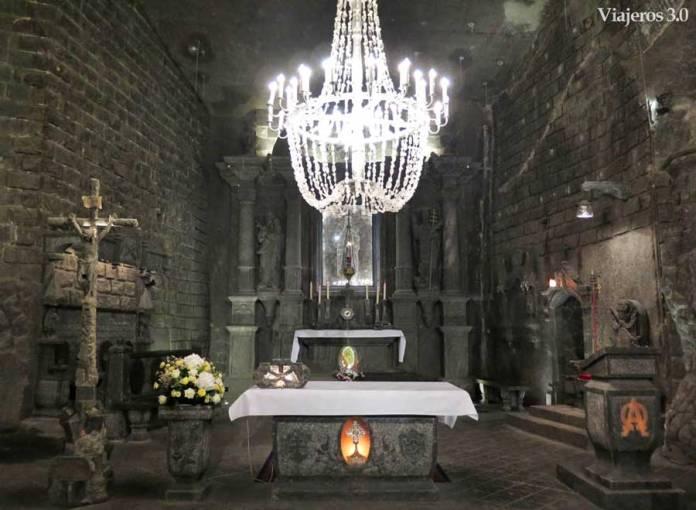 Minas de sal de Wieliczka en Polonia