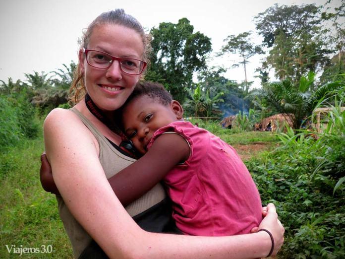 Rebeca Serna voluntariado Camerún