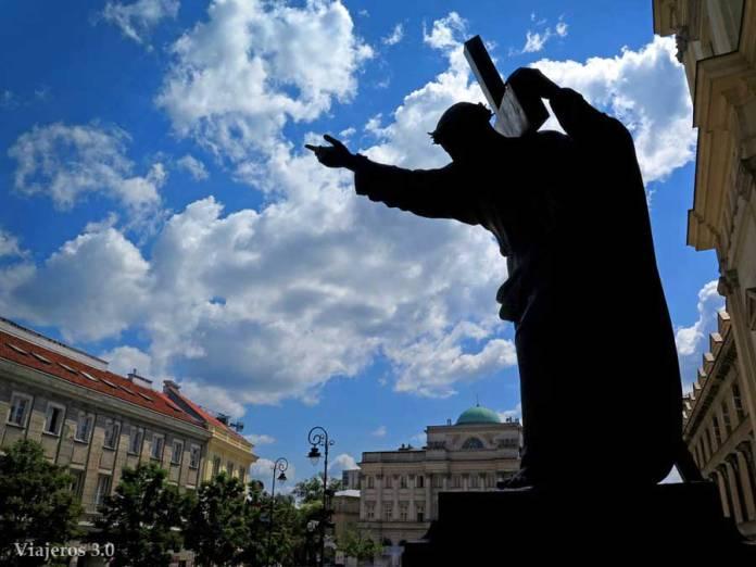 un recorrido por el casco viejo de Varsovia