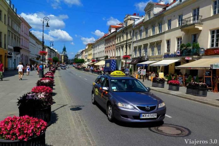 camino real Varsovia
