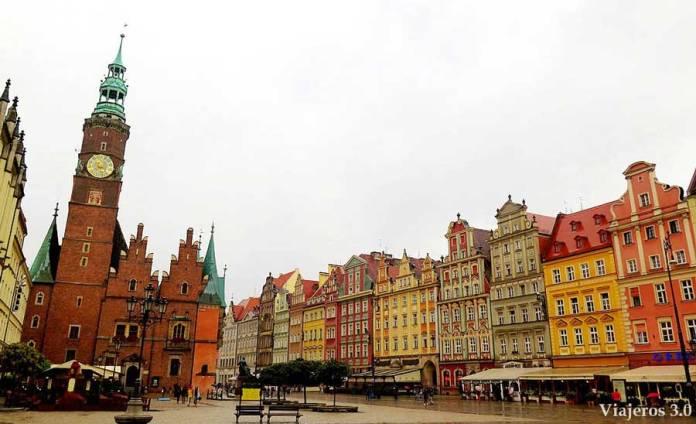 plaza del Mercado Wroclaw