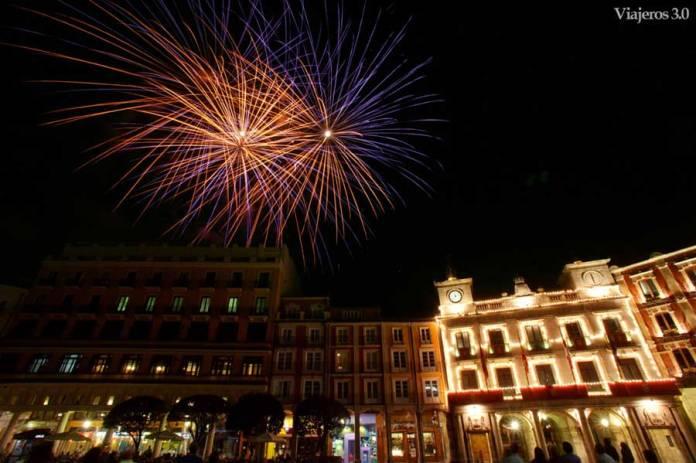 fuegos artificiales Fiestas de San Pedro de Burgos