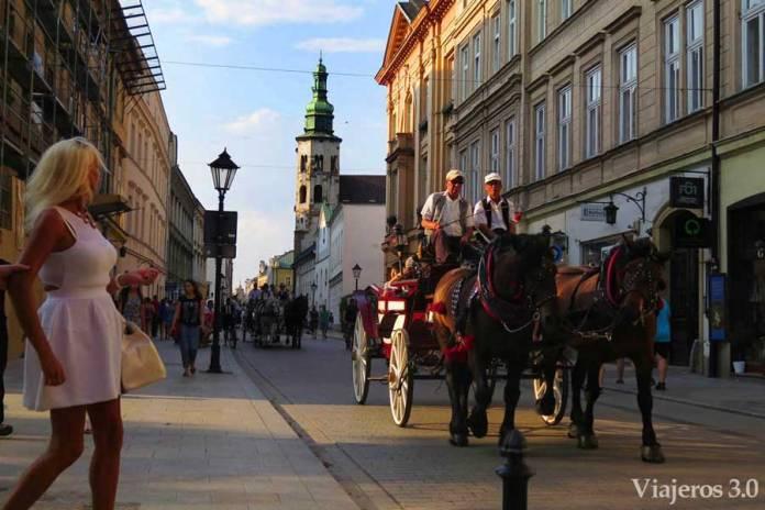 calle Grodzka de Cracovia