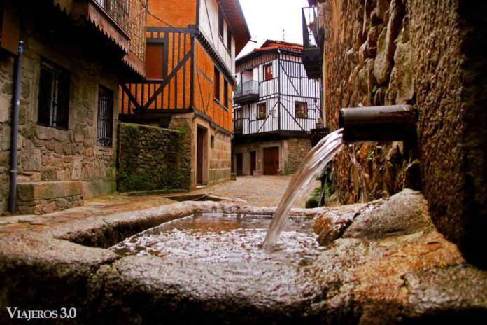 pueblo medieval de La Alberca Salamanca