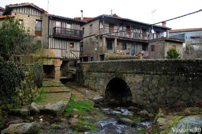 arquitectura medieval en La Alberca