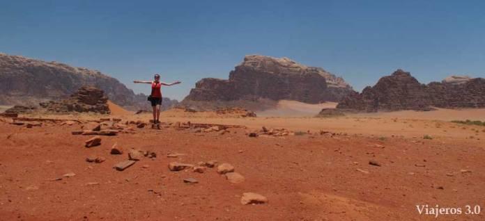 Viajeros 3.0 en Wadi Rum