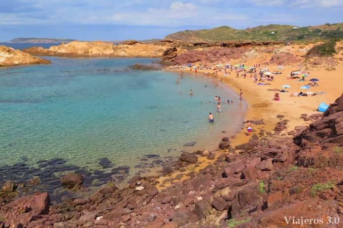 Cala Pregonda , las mejores playas de Menorca