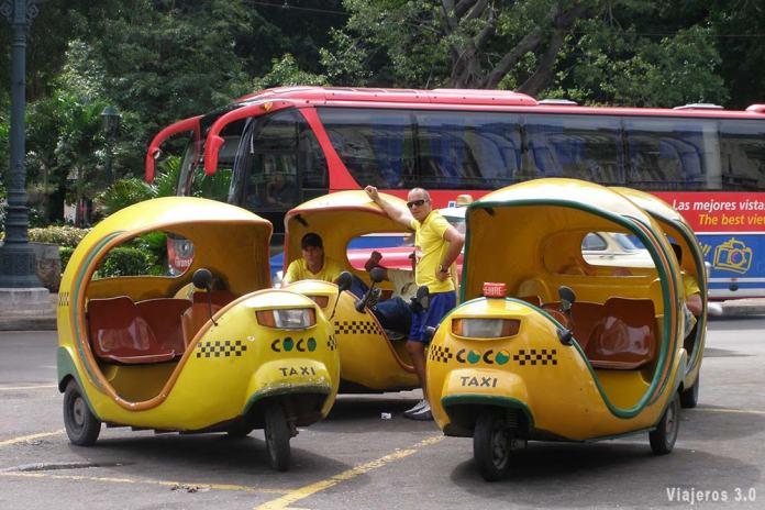 transporte en Cuba
