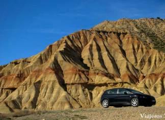 el mayor desierto de Europa, las Bardenas Reales en Navarra