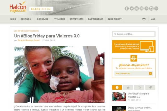 Viajeros 3.0 en Halcón Viajes, #BlogFriday